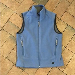 REI brand fleece vest kids large 12/14 blue 😉